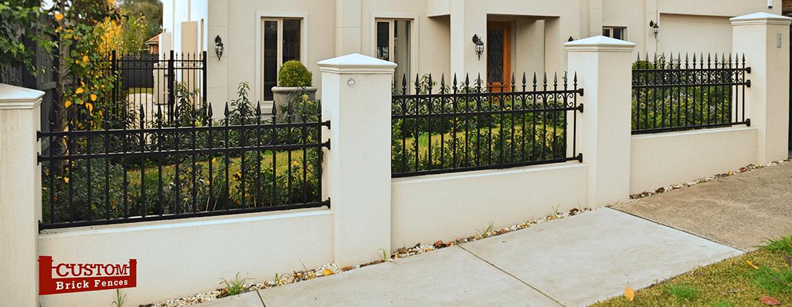 Custom Rendered Fences Render Amp Stone Custom Brick Fences